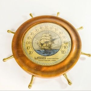 VTG Promotional Nautical Wall Thermometer